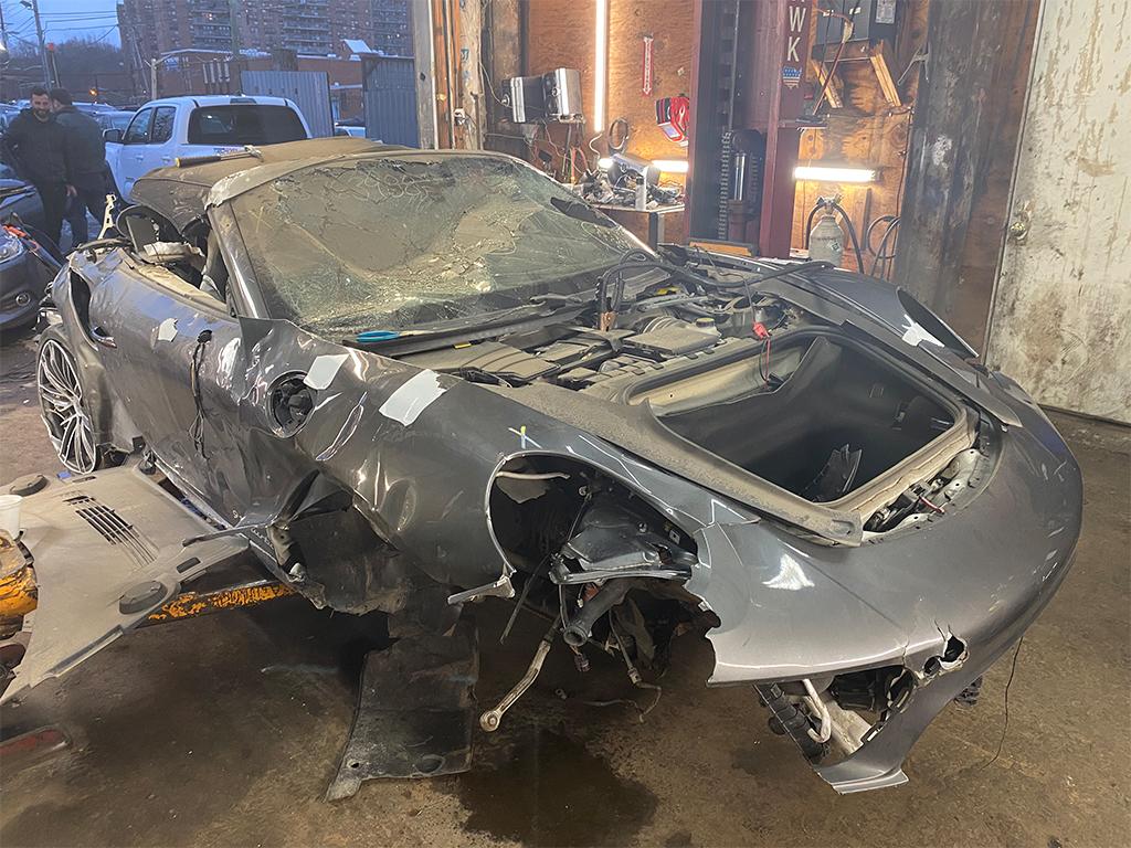 Salvage 2018 Porsche 911 Turbo