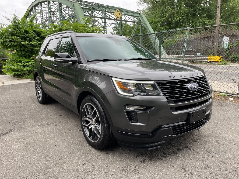 Salvage 2018 Ford Explorer Sport