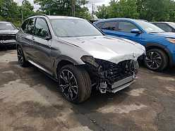 Salvage 2020 BMW X3 M Competition